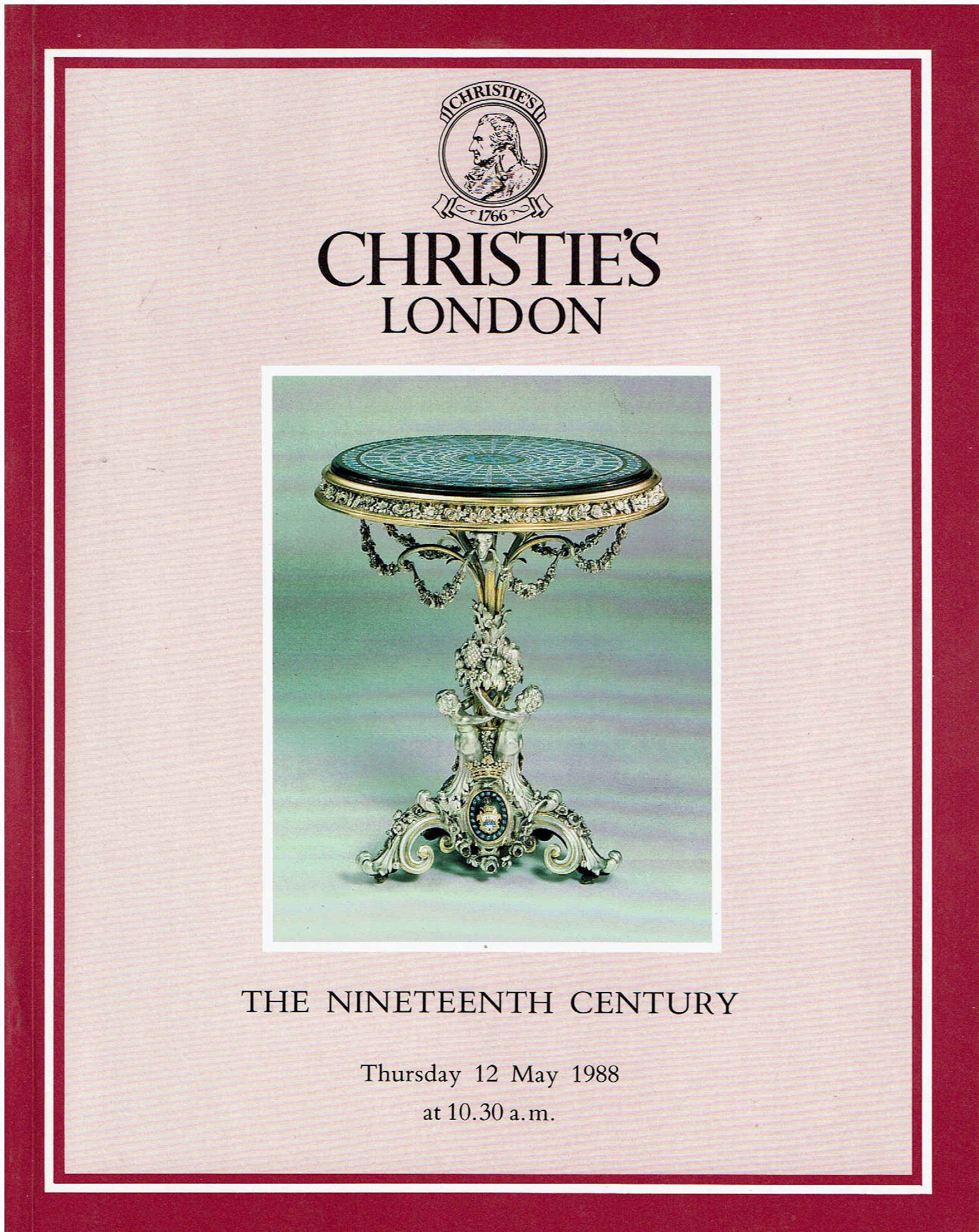 Christies 19th Century Rugs scupture porcelain work of art and furniture
