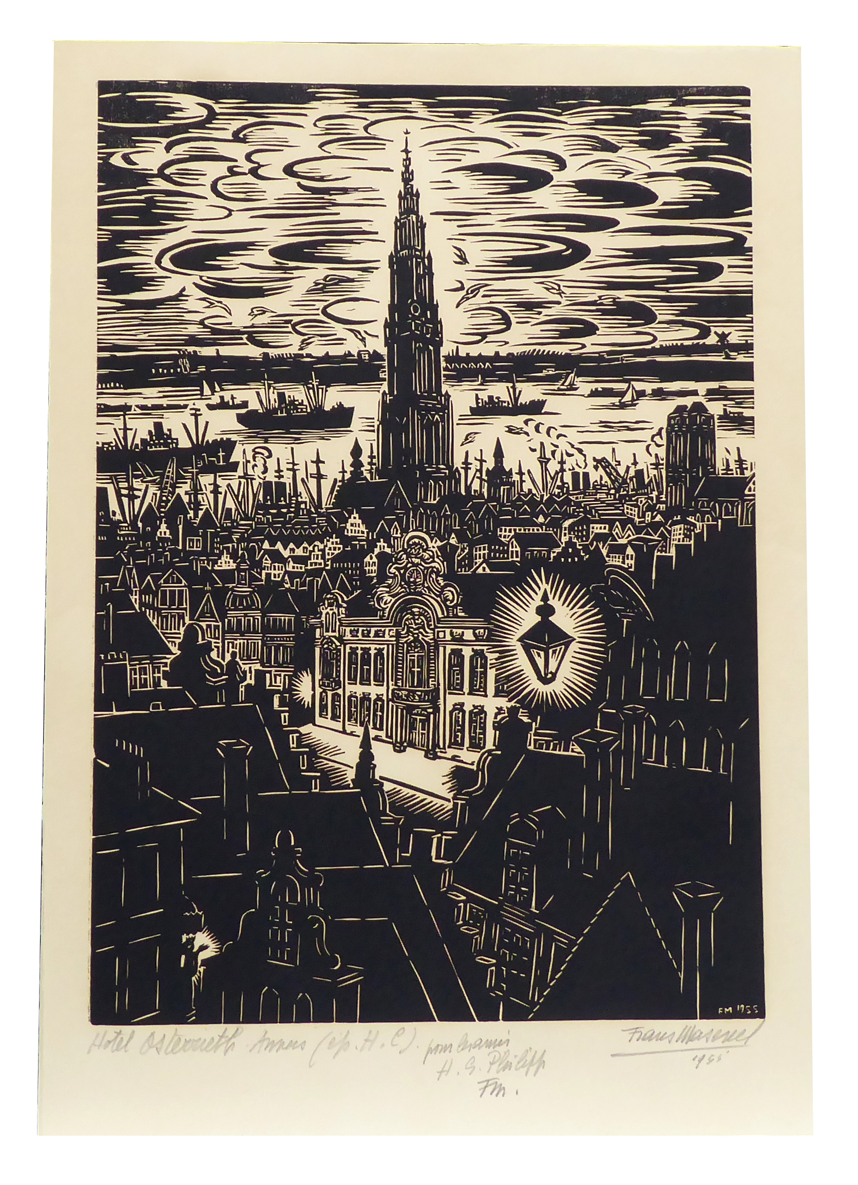 Frans Masereel original works and woodcuts
