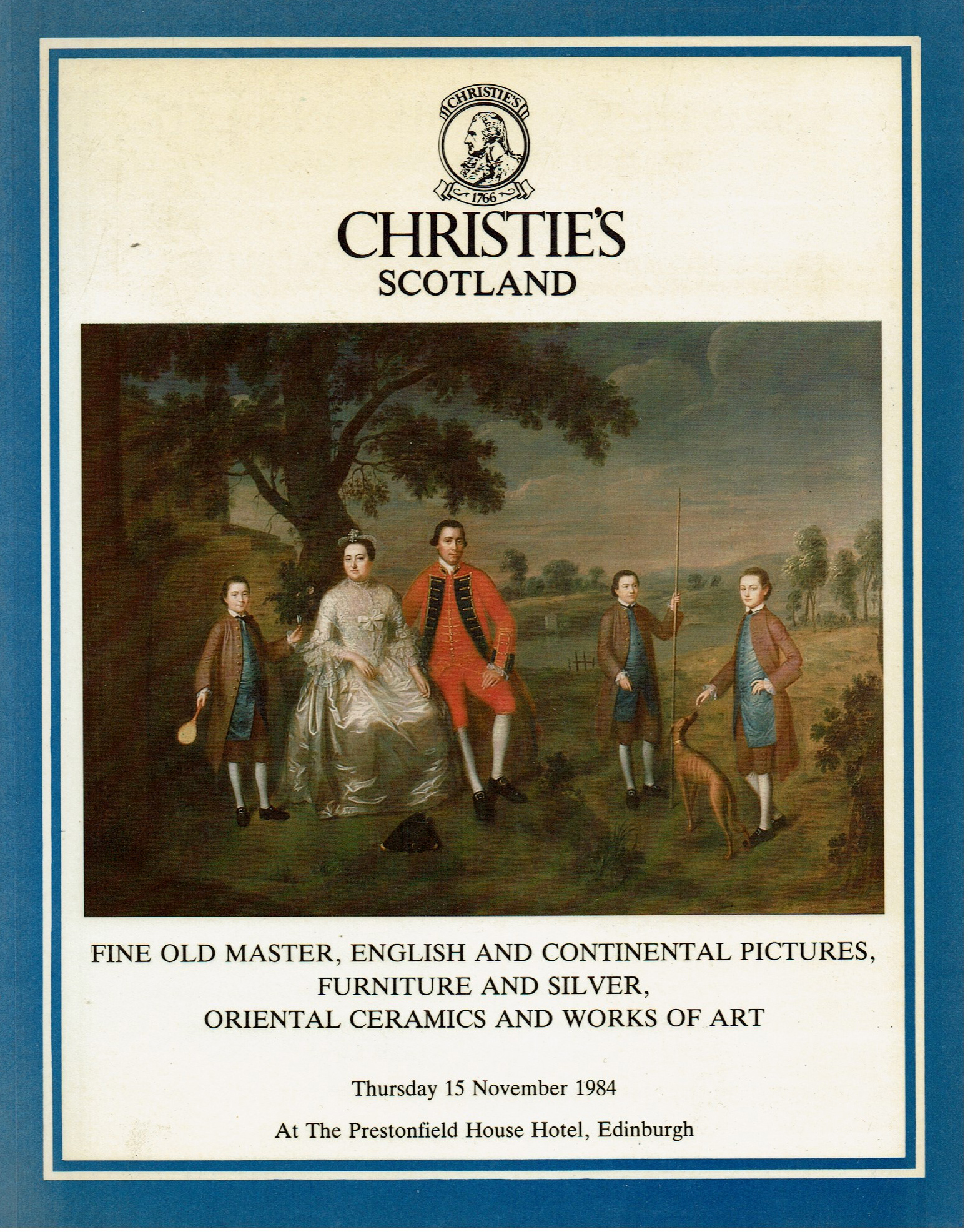 Christies Fine old master english and continental pictures furniture and silver oriental ceramics and works of art